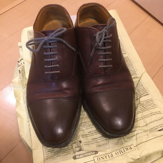 リーガル(REGAL)のリーガル 革靴 24.5 茶(ドレス/ビジネス)