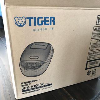 タイガー(TIGER)のタイガー魔法瓶 JPK-A100(W)5.5号炊き(炊飯器)
