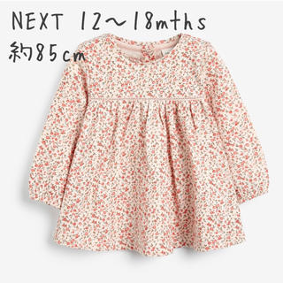 NEXT - 新品★NEXTフローラルチュニック 80cm〜85cm 花柄ブラウス
