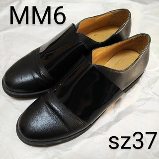 MM6 - 美品 MM6 レザー シューズ サイズ37 メゾン マルタン マルジェラ