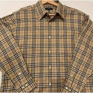 BURBERRY - Burberry バーバリーロンドン ノバチェックシャツ