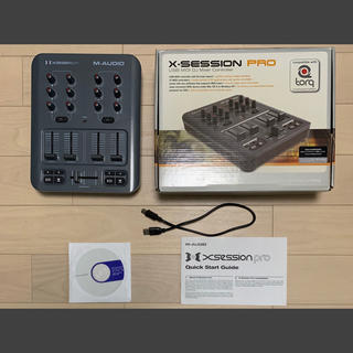 M-Audio X-Session Pro MIDIコントローラー DJ DAW(MIDIコントローラー)