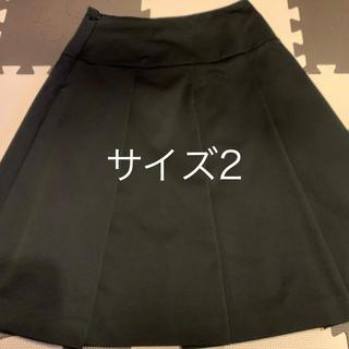 エゴイスト(EGOIST)のEGOIST★フレアスカート 黒 サイズ2(ひざ丈スカート)