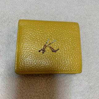 キタムラ(Kitamura)のあけっぺ様専用 キタムラ 二つ折財布 ラインストーン(財布)