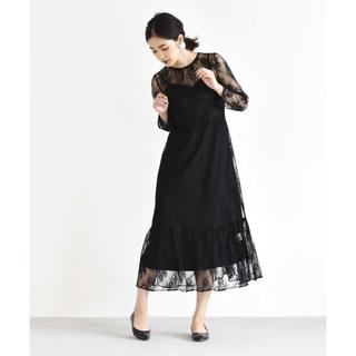 URBAN RESEARCH - kaene オールレースワンピース ドレス