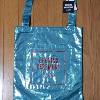 OPENING CEREMONY - オープニングセレモニー トートバック ブルー