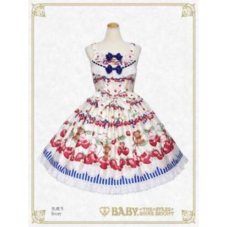 BABY,THE STARS SHINE BRIGHT - くみゃちゃんのCherry♡Strawberry柄JSK