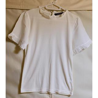 ダブルクローゼット(w closet)のダブルクローゼットレディーストップス (カットソー(半袖/袖なし))