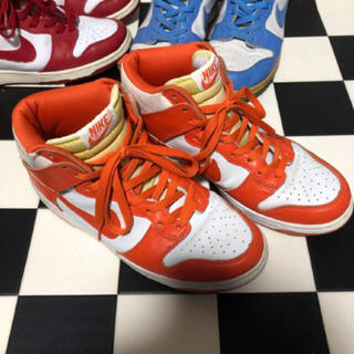 NIKE - Nike dunk high ヴァージルアブロー レア カレッジカラー