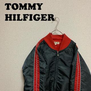 TOMMY HILFIGER - 90sTOMMY HILFIGER ナイロンブルゾン ジャケット トミーライオン