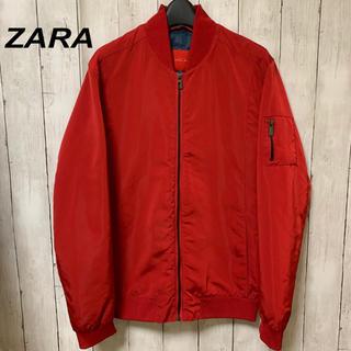 ZARA - 【大人気!】ZARA    ザラ MA-1 ブルゾン 赤