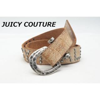 ジューシークチュール(Juicy Couture)の【BE-4】JUICY COUTURE ジューシークチュール レザー ベルト(ベルト)