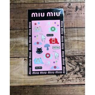 miumiu - 【非売品】miumiu ステッカーシール