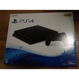 PS4 本体 500GB ジェットブラック CUH-2100A+モンハン