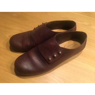ネストローブ(nest Robe)のSHOE&SEWN  medoc 24.5(ローファー/革靴)