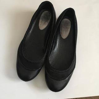 コールハーン(Cole Haan)のコールハーン×NIKE AIR ソール フラットシューズ (23㎝)(ローファー/革靴)