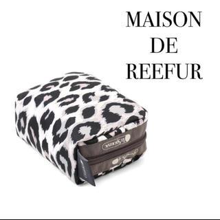 Maison de Reefur - 【新品】メゾンドリーファー レスポートサック レオパード スクエア コスメポーチ