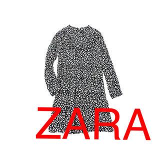 ZARA - ZARA ヒョウ柄 ワンピース🌟