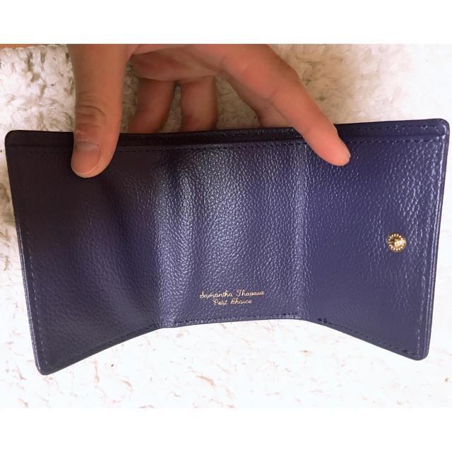 サマンサ タバサ 二 つ折り 財布