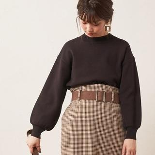 ナチュラルクチュール(natural couture)の新品◆シンプルプチハイニット ■今季■natural couture 春先まで♪(ニット/セーター)