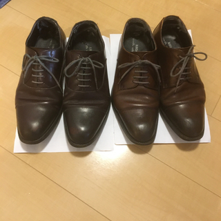 リーガル(REGAL)のリーガル 革靴24.5 ブラウン(ドレス/ビジネス)