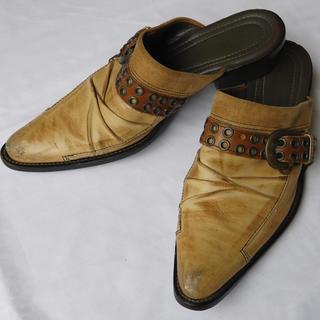 alfredoBANNISTER - alfredoBANNISTERアルフレッドバニスターレザーサンダル本革メンズ靴