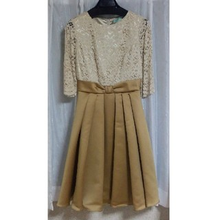 AIMER - レース切替ドレス