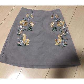 ワンウェイ(one*way)の刺繍ミニスカート(ミニスカート)