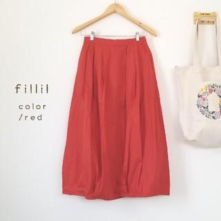 merlot - 最新作*fillil 春カラーコクーンスカート