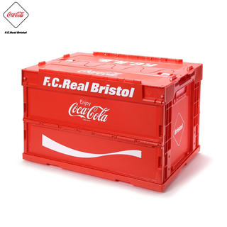 エフシーアールビー(F.C.R.B.)のF.C.R.B×コカコーラ コラボコンテナ赤 coca cola bristol(ケース/ボックス)