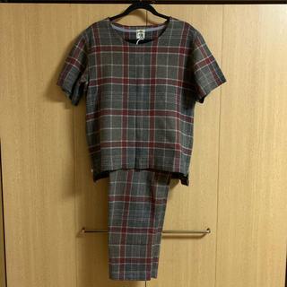 サンシー(SUNSEA)の【早い者勝ち】11aw SUNSEA Wool Check Setup(セットアップ)