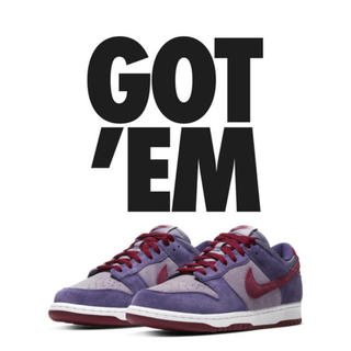 NIKE - NIKE DUNK LOW PLUM
