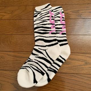 X-girl - X-girl ZEBRA SOCKS エックスガール ゼブラソックス 靴下
