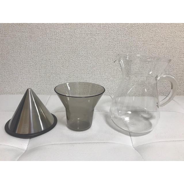 HARIO(ハリオ)のKINTO SLOW COFFEE STYLE コーヒーカラフェ 300ml インテリア/住まい/日用品のキッチン/食器(調理道具/製菓道具)の商品写真
