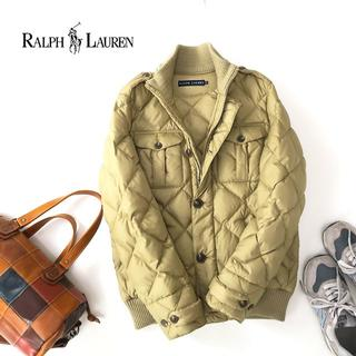 Ralph Lauren - 美品★ラルフローレン 4ポケット キルティング ダウンジャケット