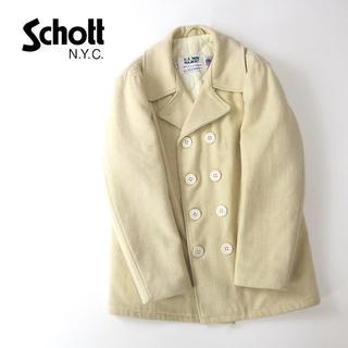 ショット(schott)のUSA製 Schott ショット U.S.740 PEA JACKET(ピーコート)