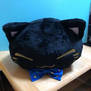 ねむネコ ぬいぐるみ(星空キラキラ)ブラック
