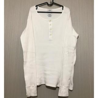 ヴィスヴィム(VISVIM)のvisvim サーマル ヘンリーネック ロンT 白 2 アメカジ ホワイト(Tシャツ/カットソー(七分/長袖))