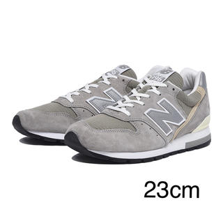 New Balance - <新品未使用>ニューバランスM996  GRAY  23cm