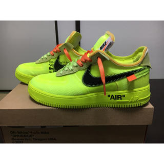 NIKE - NIKE off-white airforce1 LOW VOLT