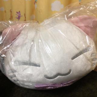ねむネコ ぬいぐるみ(星空キラキラ)ホワイト
