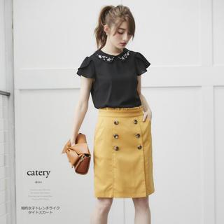 トッコ(tocco)のtocco♡トレンチタイトスカート(ひざ丈スカート)