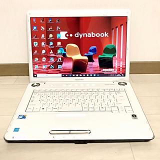 トウシバ(東芝)の☆美品ホワイト☆ dynabook TX/64H2 harman 超大容量HDD(ノートPC)