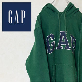 GAP - GAP ギャップ ビッグロゴ パーカー プルオーバー 90s レアカラー 美品