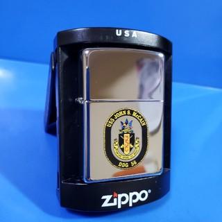 ジッポー(ZIPPO)の新品❤07H'ZIPPO❤USSミサイル駆逐艦J.S.McCAIN♥送料無料(タバコグッズ)