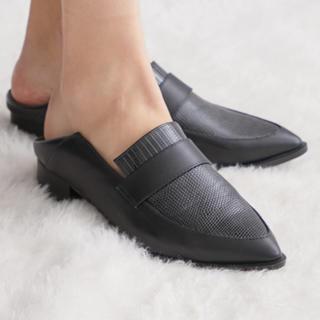 ステュディオス(STUDIOUS)のduca様専用 studious 2way  バブーシューローファー(ローファー/革靴)
