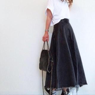 moussy - moussy デニムロングスカート