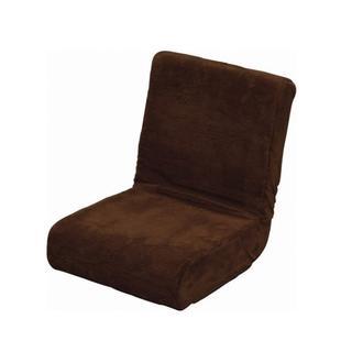 【新品未使用】座椅子 & 枕 2way ふわふわ フロアチェア コンパクト