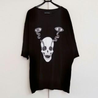 アンダーカバー(UNDERCOVER)の【ぽっぷ♪】Daniel Palillo OS スカルビックTシャツ(Tシャツ/カットソー(半袖/袖なし))