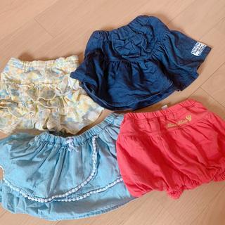 ベルメゾン(ベルメゾン)の女の子 キュロットとスカート80(スカート)